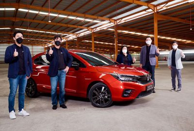 Honda City Hatchback RS Resmi Diaspal di Indonesia